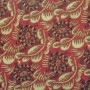 6063CF - Dufy - Tortues - rouge or