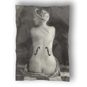 50410MSS80-Man ray-Le violon d'ingres